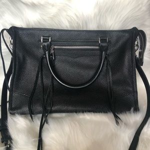 Rebecca Minkoff Regan Pebbled leather Satchel